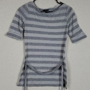 H&M cute sparkly striped top size small